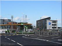 TQ7769 : Asda Petrol Filling Station and Medway UTC by David Anstiss