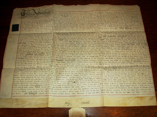 Heigham Holmes (parchment)