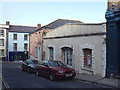SS4526 : Derelict old building, Grenville Street, Bideford by Robin Stott