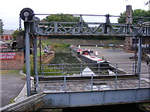 SO9491 : Lifting Bridge View by Gordon Griffiths