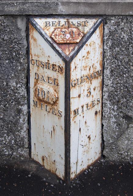 Milepost, Carnlough