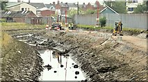 J3674 : Connswater path works, Belfast - September 2015(3) by Albert Bridge