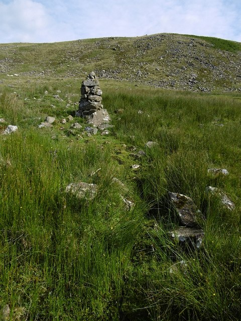 Cairn and spring