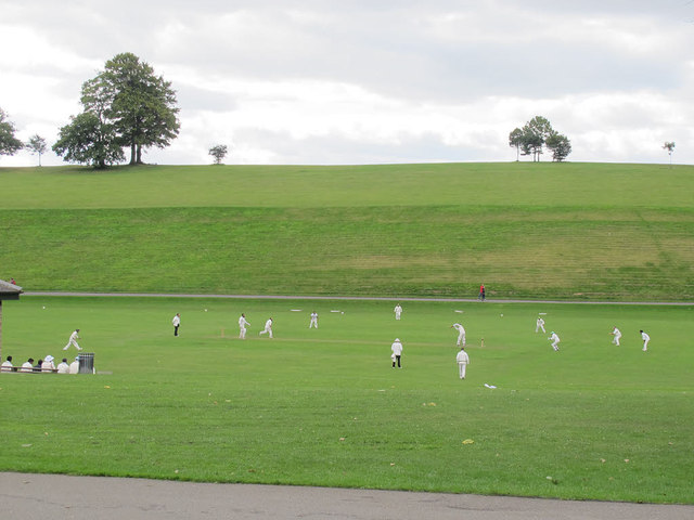 Cricket in Roundhay Park