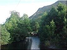 NY3915 : Goldrill Bridge crosses Goldrill Beck by Tim Glover