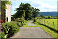 SD6643 : Leaving Lees House Farm by Chris Heaton