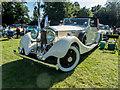 TQ3499 : Rolls Royce at Classic Car Show, Capel Manor, Enfield by Christine Matthews