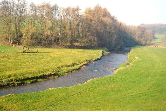 River Aire near Hospital Plantation
