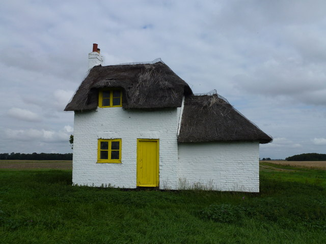 Thatched cottage at Knarr Farm, Thorney Toll - Photo 6