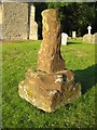 SO8846 : Remains of a preaching cross, Pirton church by Philip Halling