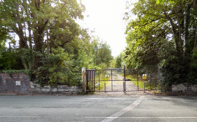 Gates to the old station