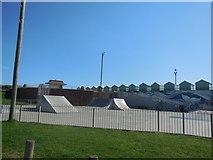 TQ2704 : Skate Park by Hove Lagoon by Paul Gillett
