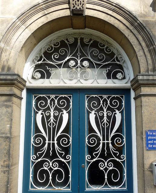 Detail of 10 Kensington Terrace, Newcastle