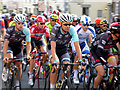 NY9363 : The peloton, Aviva Tour of Britain by Oliver Dixon