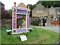 SK2276 : Well dressing, Town End, Eyam, September 2015 [1] by Christine Johnstone