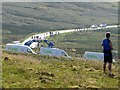 NY6441 : Tour of Britain at Hartside finish by Andrew Curtis