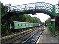 SU5832 : The end of the platform at Alresford station by Marathon