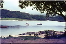 NM6793 : The River Morar by Peter Jeffery