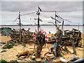 SJ3193 : New Brighton Beach, The Black Pearl by David Dixon
