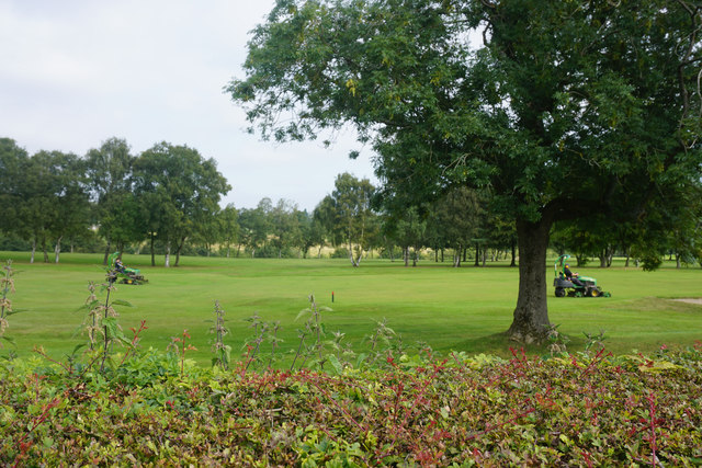 Mowers on Deane Golf Course
