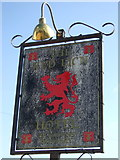 TF4382 : Faded sign for the Red Lion, Withern by JThomas