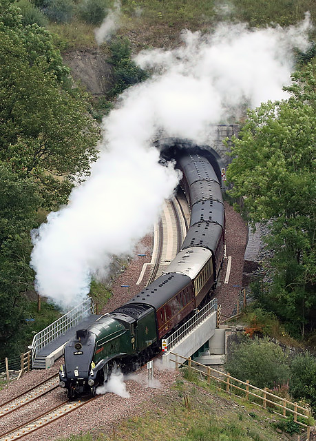 The Union of South Africa steam special on the Borders Railway