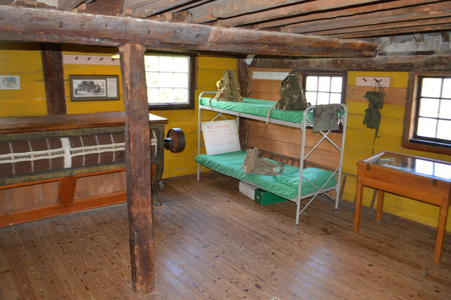 Dormitory at Houghton Mill