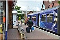 NS3881 : Balloch Station by Jim Barton