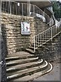 SZ0892 : Steps and railings by David Lally