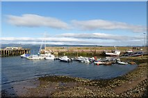NH7867 : Cromarty Harbour by DS Pugh