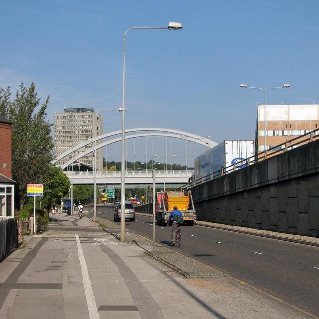 Tramway bridge over Clifton Boulevard