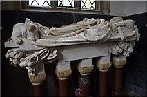 SK9239 : Monument to Henry John Cockayne Cust, Ss Peter & Paul church, Belton by Julian P Guffogg