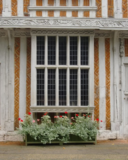 Paycocke's House, Coggeshall: oriel window