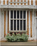 TL8422 : Paycocke's House, Coggeshall: oriel window by Stefan Czapski