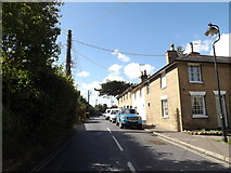 TM1763 : Gracechurch Street, Debenham by Adrian Cable