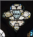TL2842 : St Peter & St Paul, Steeple Morden - Stained glass window by John Salmon