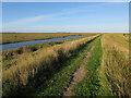 TF8045 : Path around Deepdale Marsh by Hugh Venables