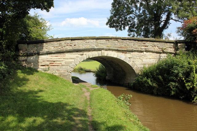 Bridge 83 on the Macclesfield Canal
