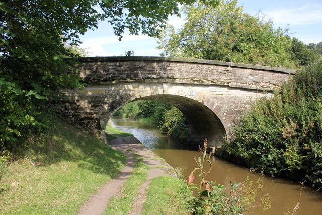 Bridge 82 on the Macclesfield Canal