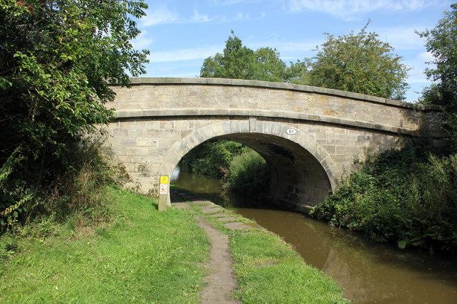 Bridge 81 on the Macclesfield Canal