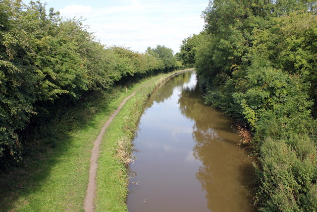 The Macclesfield Canal from Bridge 81