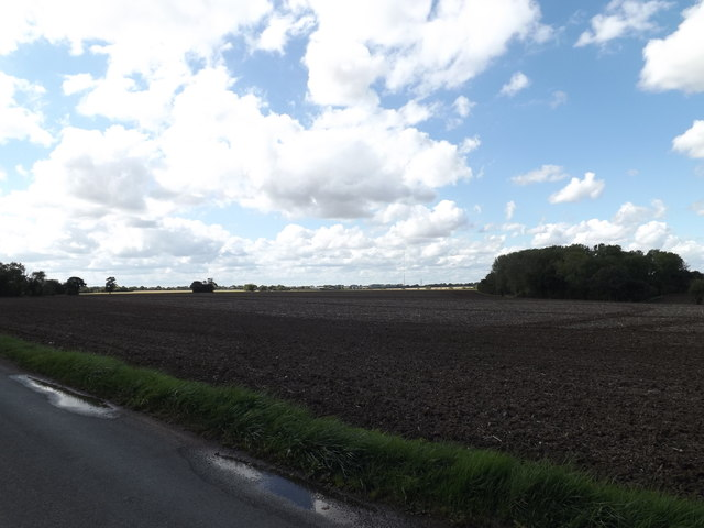 Fields looking towards Mendlesham Transmission Tower