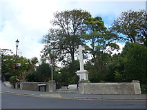 SZ5881 : Shanklin War Memorial, Chine Avenue by Basher Eyre