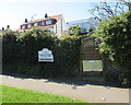 SZ5882 : Cliff Path entrance to Littlestairs Dental Centre, Shanklin by Jaggery