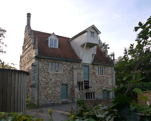 Bourne Mill from the east