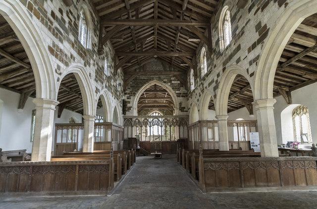 Interior, All Saints' Theddlethorpe