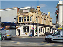 SD3035 : Uncle Peter Websters public house, Blackpool Promenade by Robin Stott