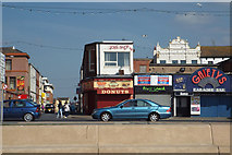 SD3035 : A view east down Yorkshire Street from Blackpool Promenade by Robin Stott