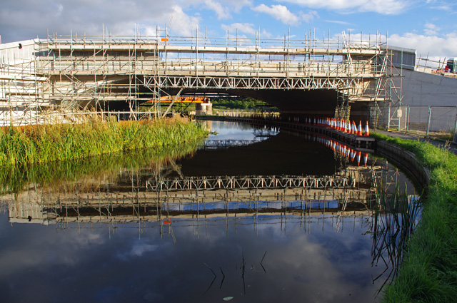 Bridge construction, Lancaster Canal