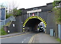 SK6106 : Railway bridge across Barkby Road, Leicester by Mat Fascione
